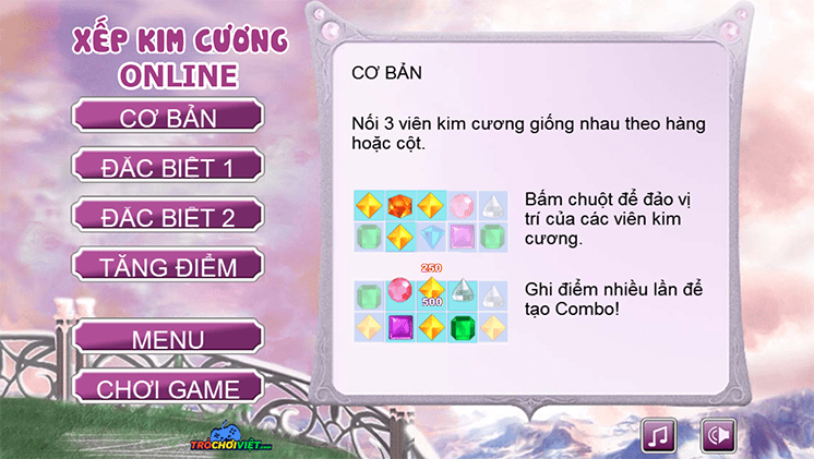game xep kim cuong online hinh anh 1