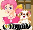 Làm sushi cho cún cưng