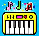 Bé tập đánh đàn Piano