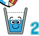 Đổ nước vào cốc 2